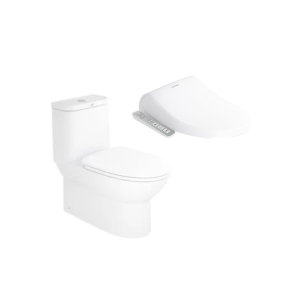 Neo Modern CL25315 One-piece Toilet with Pristine E-Bidet