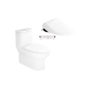 Neo Modern CL25315 One-piece Toilet with Pristine Star E-Bidet