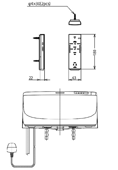 TOTO-TCF6431Z-Washlet Specification 3